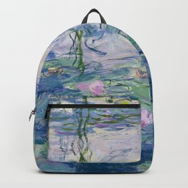 "Claude Monet ""Water Lilies(Nymphéas)"" (9) 1916–19.jpg Backpack"