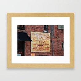 Lake Erie Islands Historical Society Framed Art Print