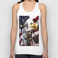 patriotic Tank Tops featuring PATRIOTIC TIMES by PERRY DAEZIOUH