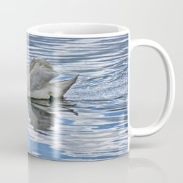 Proud mute swan Coffee Mug