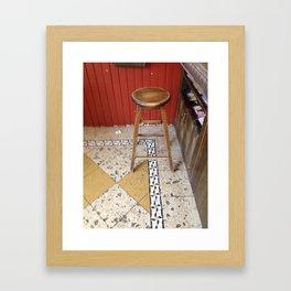stool Framed Art Print