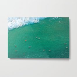 Surfing Day Metal Print