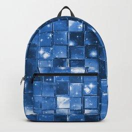 Blocky Blue Stars Backpack