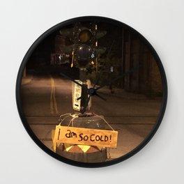 Windows On Main Street 2015 - I Am So Cold Dummy Light Wall Clock