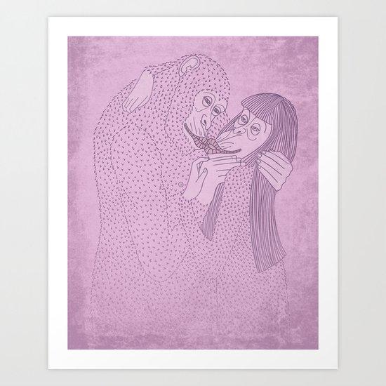 Kustav Kiss Art Print