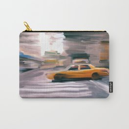 Taxi Cab. Carry-All Pouch