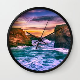 As Catedrais Wall Clock