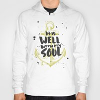 scripture Hoodies featuring It is Well With My Soul by Zeke Tucker