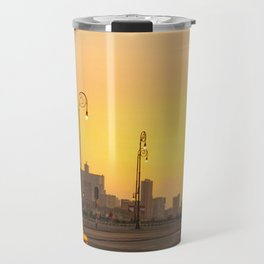 Sunset in La Habana Travel Mug