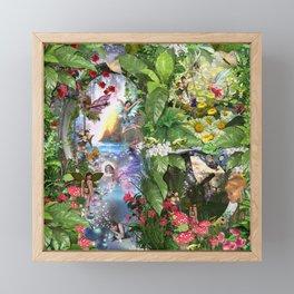 Fairy Kingdom Forest Dreamland Fantasy Stories Framed Mini Art Print