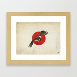 pure power  Framed Art Print