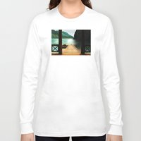 lake Long Sleeve T-shirts featuring Lake by Viggart