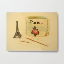 Those souvenirs of Paris Metal Print