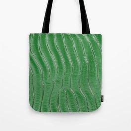 Green velvet Tote Bag