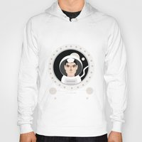 """movie poster Hoodies featuring """"Gravity"""" Movie Poster by Gary  Ralphs Illustrations"""