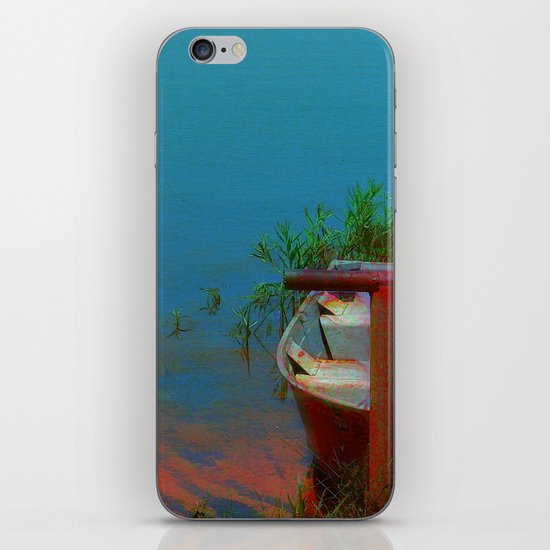 Rusty Boat iPhone & iPod Skin