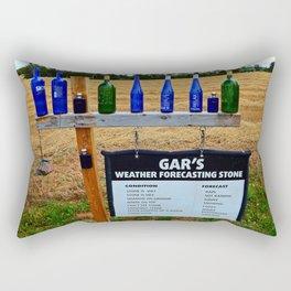 Gar's Weather Forecasting Stone Rectangular Pillow