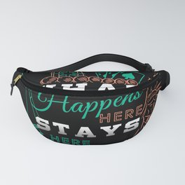 What Happens In Vegas Fanny Pack