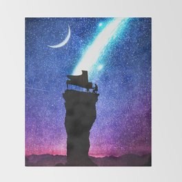 A Symphony for the Stars Throw Blanket