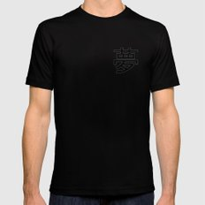 Terry Henson Mens Fitted Tee Black X-LARGE