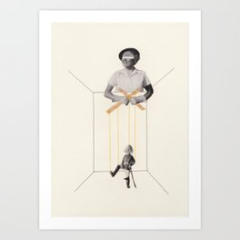 Strings Attached #3 Art Print