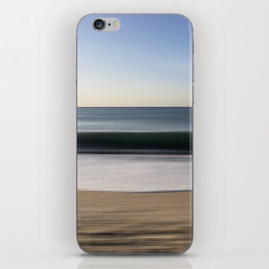 seascape blue III iPhone & iPod Skin