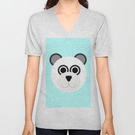 Panda Bear Unisex V-Neck