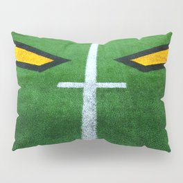 Rugby playing field Pillow Sham