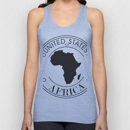 United States of Africa Unisex Tank Top