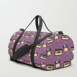 Floppy disk and cassette tape Duffle Bag
