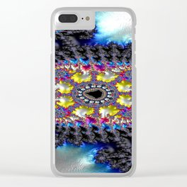 Freehand Stancher Fractal 2 Clear iPhone Case