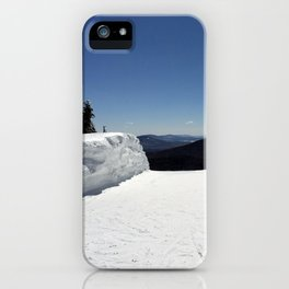 View from Superstar, Killington iPhone Case