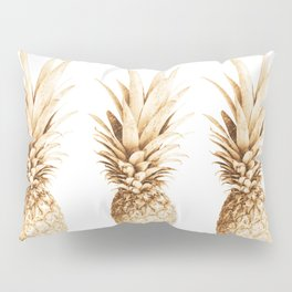 Pineapples and illusion Pillow Sham