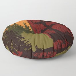 Gwaii Haanas National Park Reserve, National Marine Conservation Area Reserve & Haida Heritage Site Floor Pillow