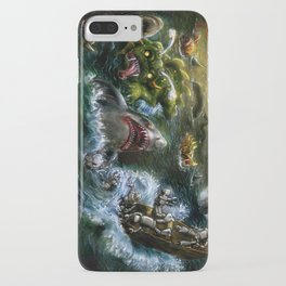 Plight of the Seabots iPhone Case