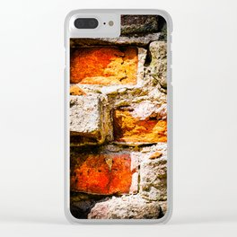 Bricks And Mortar Clear iPhone Case