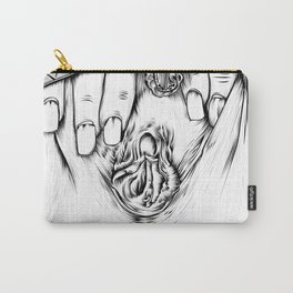 Vagina Spread Carry-All Pouch