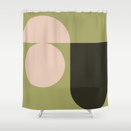 Contemporary 68 Shower Curtain