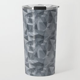 Abstract Geometrical Triangle Patterns 3 Benjamin Moore 2019 Trending Color Black Pepper Gray 2130-4 Travel Mug