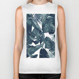 Tropical Summer Jungle Leaves Dream #4 #tropical #decor #art #society6 Biker Tank