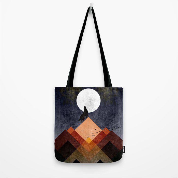 Wolf Home Tote Bag