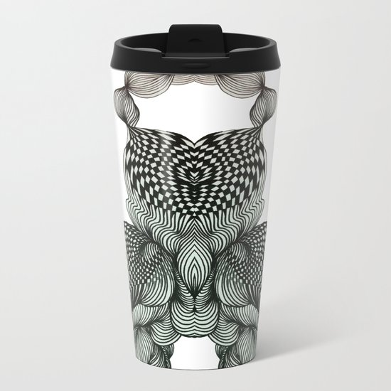 Transformation of Black&White No.1 Metal Travel Mug