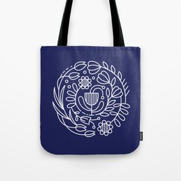 Flower medallion Tote Bag