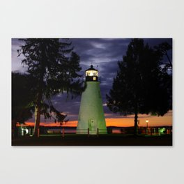 Concord Point Lighthouse, Havre de Grace, Maryland Canvas Print