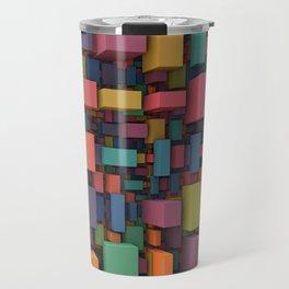 Random Cubes Travel Mug