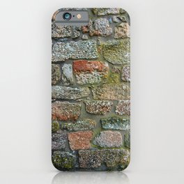 Old granite wall iPhone Case