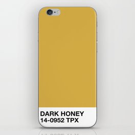 dark honey iPhone Skin