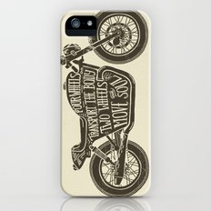 Two wheels move the soul Slim Case iPhone (5, 5s)