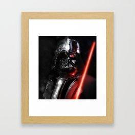 Twisted darkside Framed Art Print