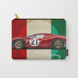 Monza Racetrack Vintage Carry-All Pouch